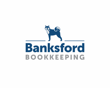 Banksford Bookkeeping logo design