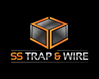 SS Trap & Wire logo design