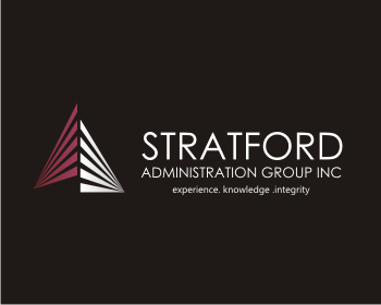 stratford administration group inc logo design