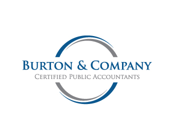 Logo design for Burton & Company Certified Public Accountants