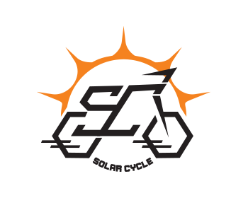 Solar Cycle logo design