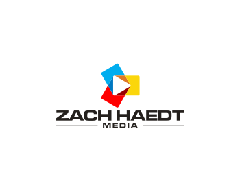 Zach Haedt Media logo design