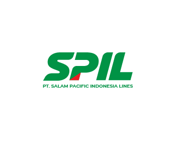 Logo design for PT Salam Pacific Indonesia Lines