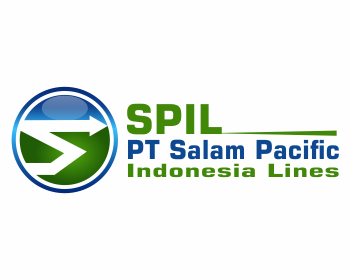 PT Salam Pacific Indonesia Lines logo design