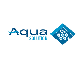 Aqua Solution logo design