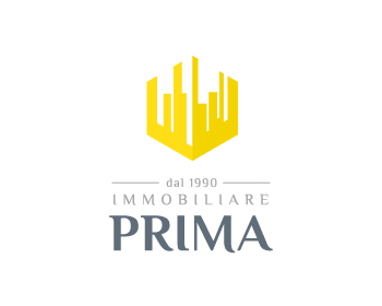 Logo design for Immobiliare Prima