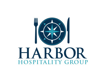 Harbor Hospality Group logo design