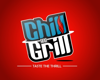 Chill & Grill (Or Chill and Grill) logo design