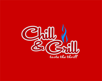 logo design entry number 200 by aqif chill grill or chill and grill logo contest. Black Bedroom Furniture Sets. Home Design Ideas