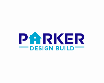 Parker Design Build logo design