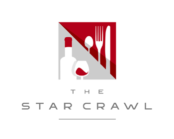 logo design for The Star Crawl