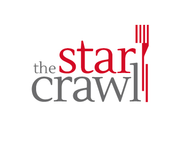 The Star Crawl logo design