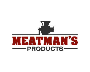 Meatman's Products logo design