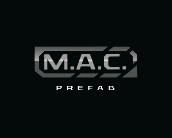Logo design for M.A.C Prefab