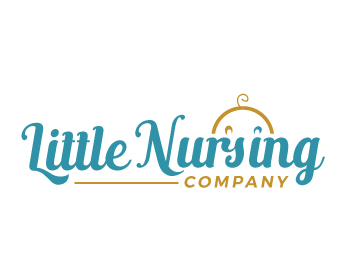 Little Nursing Company logo design