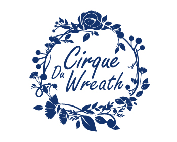 Cirque Du Wreath logo design