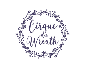 logo design for Cirque Du Wreath