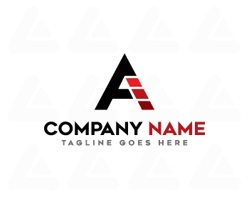 Ready made logo: AE LETTER