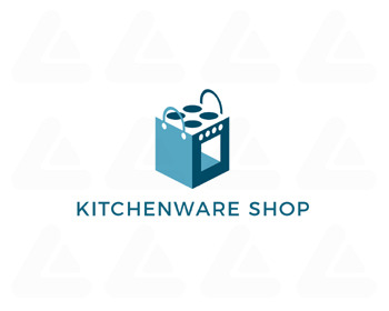 Logo design: KITCHENWARE SHOP