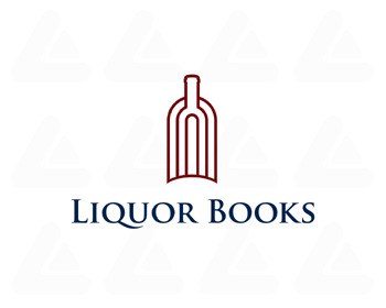 Logo pronto in vendita: Liquor Books