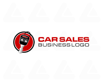 Logo pronto in vendita: Car sales