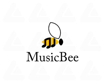 Ready made logo design: MusicBee