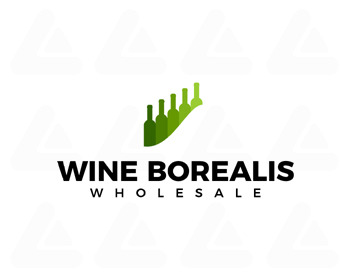 Logo pronto in vendita: Wine Borealis