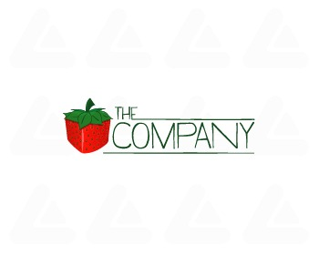 Ready made logo: Squareawberry