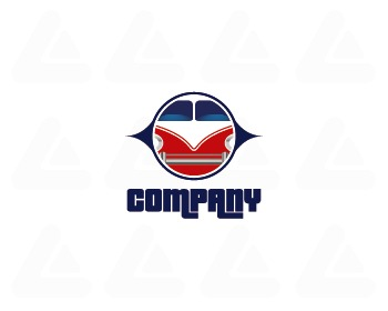 Ready made logo: CamperVan