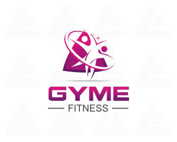 Fertige logo: Gym Fitness