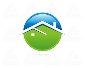 Fertige logo: Real Estate