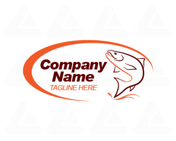 Fertige Logo: Fishing Logo