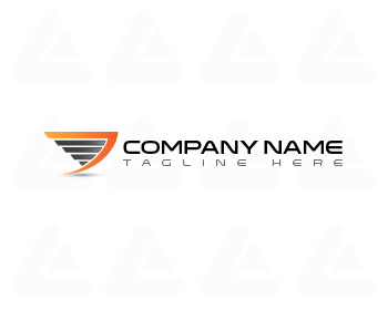 Ready made logo design: wing logo