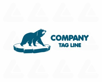 Ready made logo design: bear