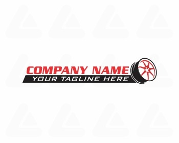 Logo design: wheel logo