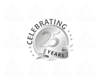 Logo design: Celebrating 25 Years