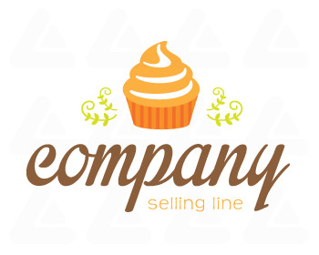 Ready made logo design: Cupcake