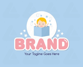 Logo design: Baby in the box