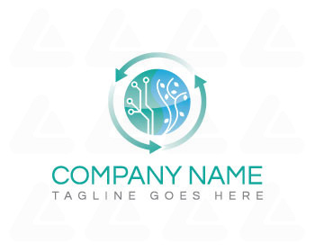 Ready made logo: NaTech Logo Design