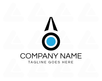 Ready made logo: AO Logo Design