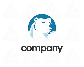 Ready made logo: polar bear
