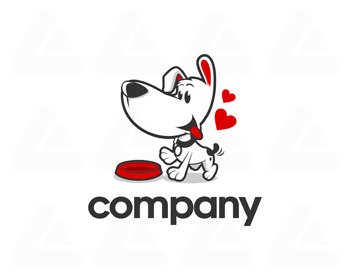 Logo pronto: happy dog