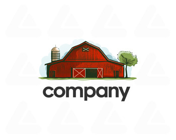 Ready made logo design: the barn