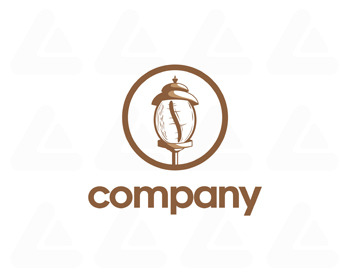 Ready made logo: village coffe