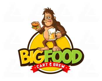 Ready made logo design: big food