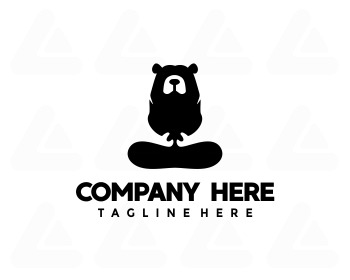 Fertige Logo: high bear