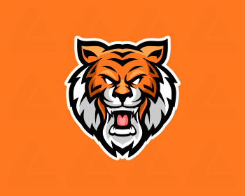 Logo pronto in vendita: tiger esport