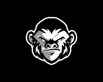 Logo pronto: monkey esport