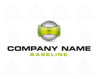 Logo design: abstract sphere