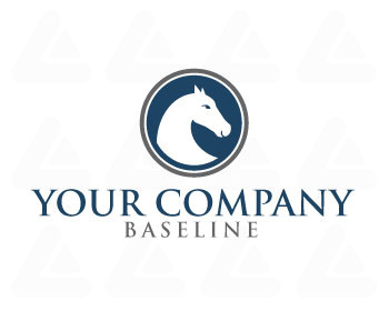 Ready made logo: Horse Head
